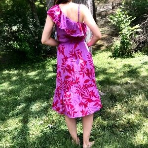 Old Navy one shoulder midi dress-NWT